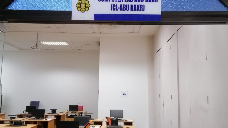 Abu Bakar Computer Lab opened during RMCO