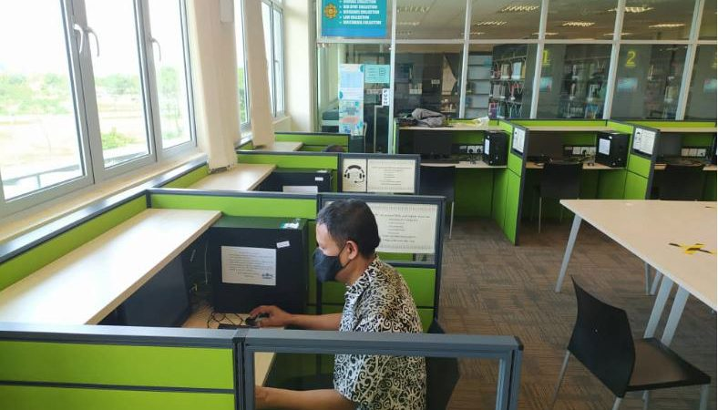 Public & Staff PC Maintenance at Pagoh Campus